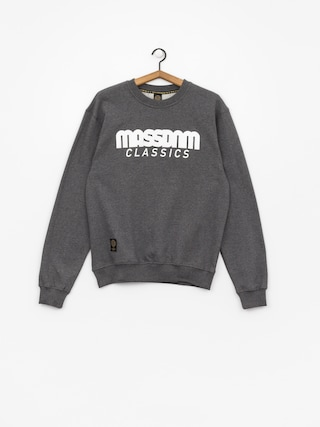 Mikina MassDnm Classics (dark heather grey)