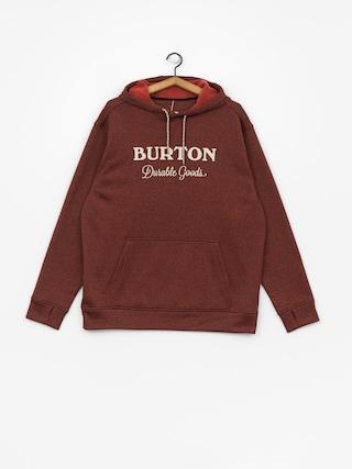 Mikina s kapucí Burton Oak HD (bitters heather)