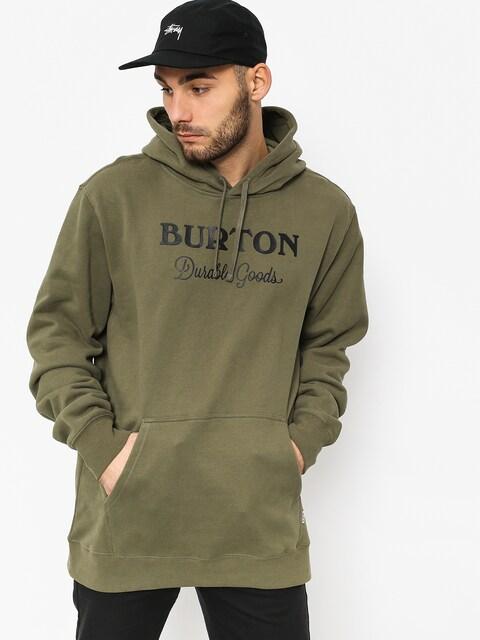 Mikina s kapucí Burton Durable Gds HD (dusty olive)