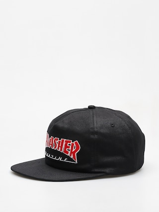 Kšiltovka  Thrasher Outlined Snapback (black)