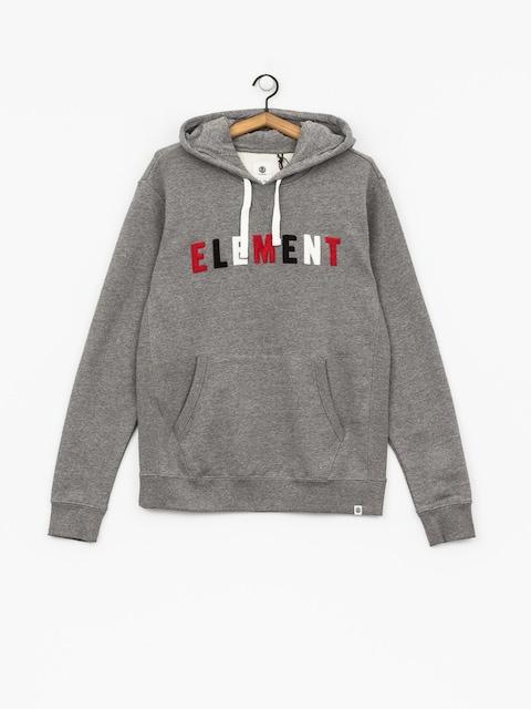 Mikina s kapucí Element Liner HD (grey heather)