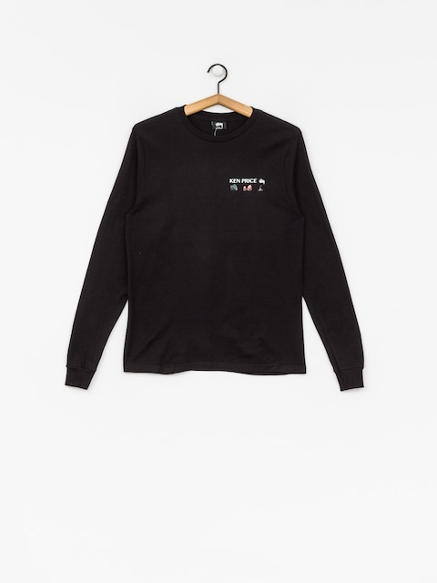 Triko Stussy Imaginary Spaces Ls Tee Wmn (black)