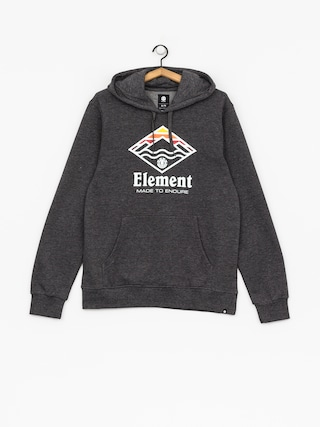 Mikina s kapucí Element Layer HD (charcoal heather)