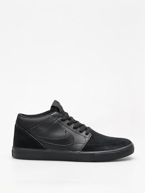 Boty Nike SB Sb Solarsoft Portmore II Mid (black/black black anthracite)