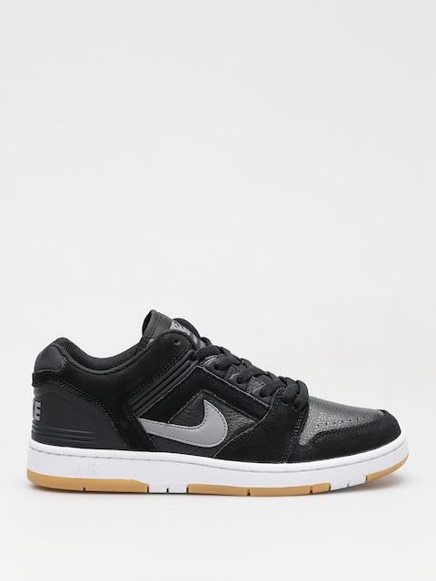 Boty Nike SB Sb Air Force II Low (black/gunsmoke white gum light brown)