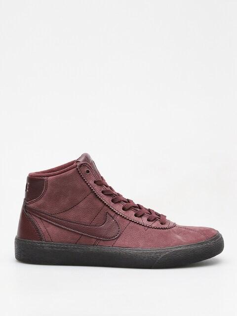 Boty Nike SB Sb Bruin High Premium Wmn (burgundy crush/burgundy crush)