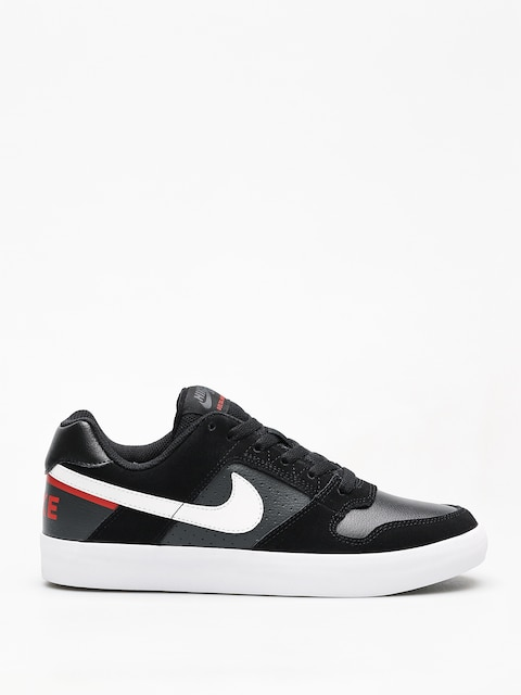 Boty Nike SB Sb Delta Force Vulc (black/white habanero red)