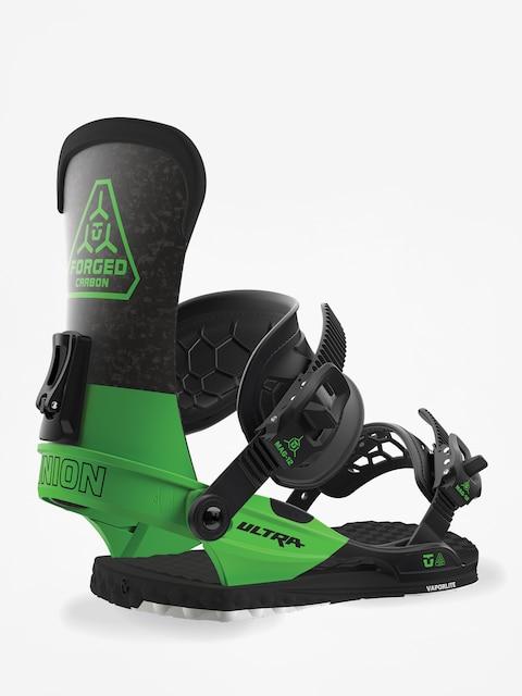 Snowboardové vázání Union Ultra (green)