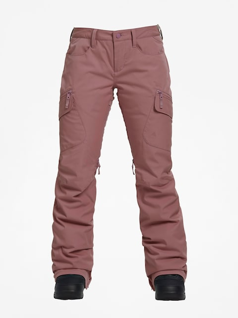 Snowboardové kalhoty  Burton Gloria Ins Wmn (rose brown)