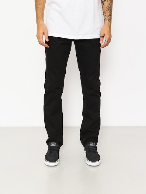 Kalhoty Nervous Chino (black)