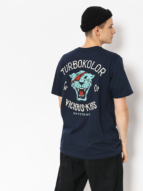 Tričko Turbokolor Vicious Kids (navy)