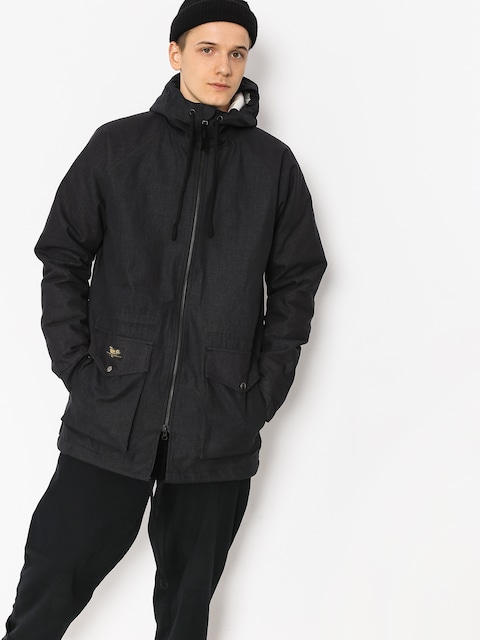 Bunda Turbokolor Parka (black)