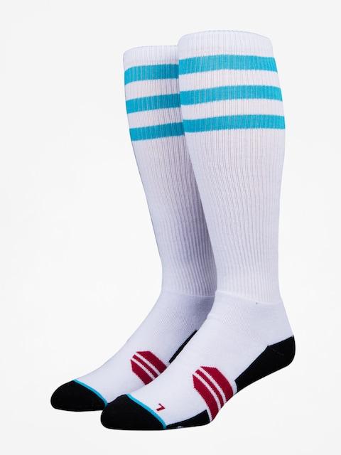 Ponožky Stinky Socks Three Stripes (white /blue)