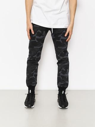 Kalhoty MassDnm Classicss Joggers Chino (black camo)