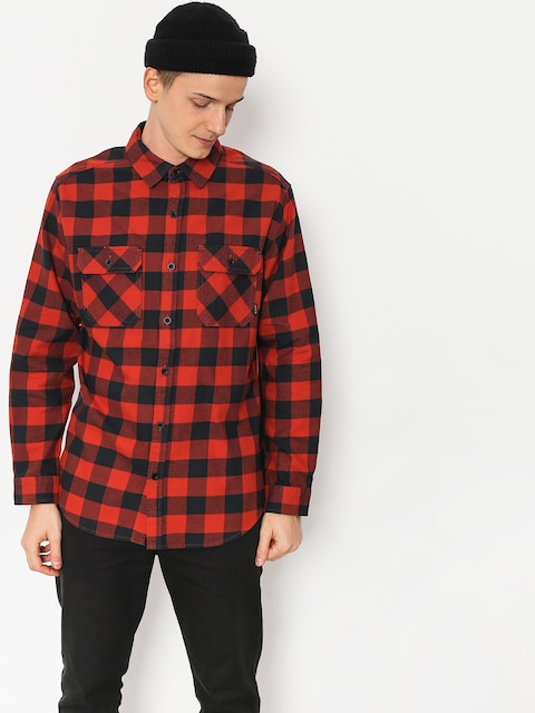 Košile Burton Brighton Flnl (bitters htr buff pld)