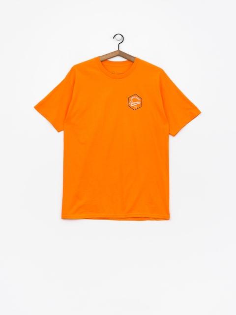 Tričko Brixton Yates Stt (orange)