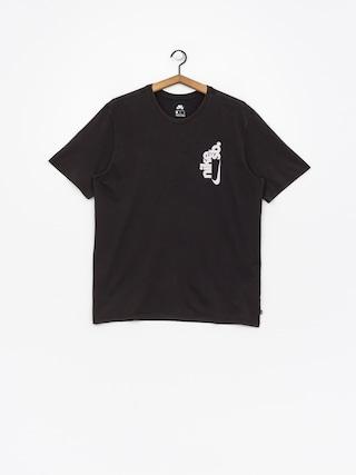 Tričko Nike SB Sb Vertical Dye (black/white)