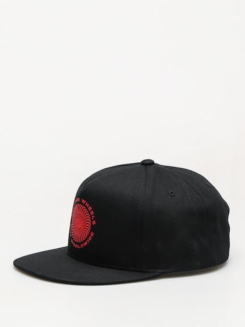 Kšiltovka HUF Spitfire Swirl Snapback ZD (black)