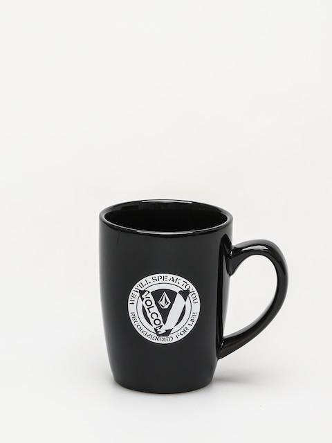 Ostatní Hrneček Volcom Kubek Cut Out Mug (blk)