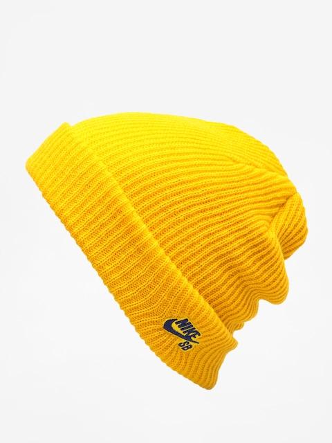 Čepice Nike SB Sb Fisherman Beanie (yellow ochre/blue void)