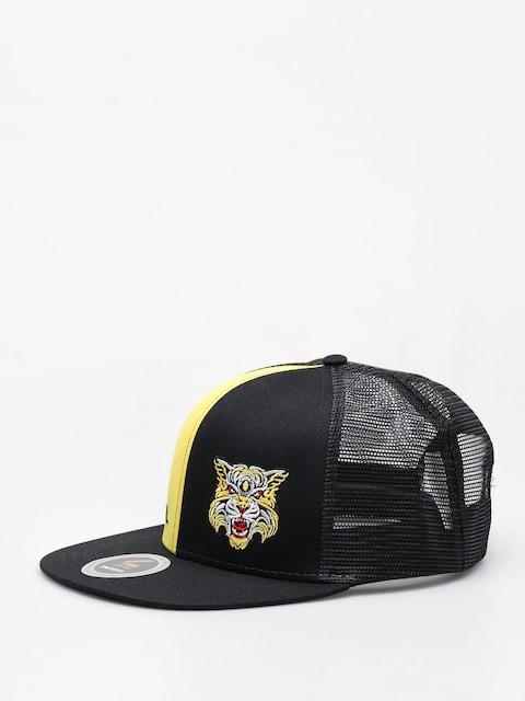 Kšiltovka Level Cap (black yellow)