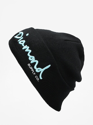 Čepice Diamond Supply Co. Og Script Beanie (black)