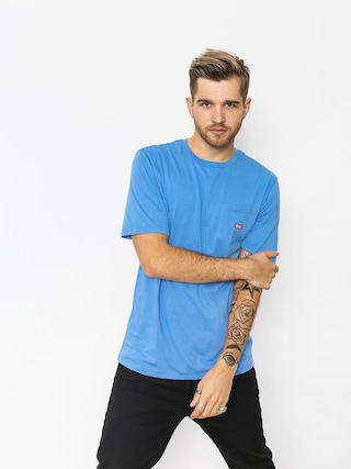Tričko Brixton Stith Wl Pkt (washed royal)