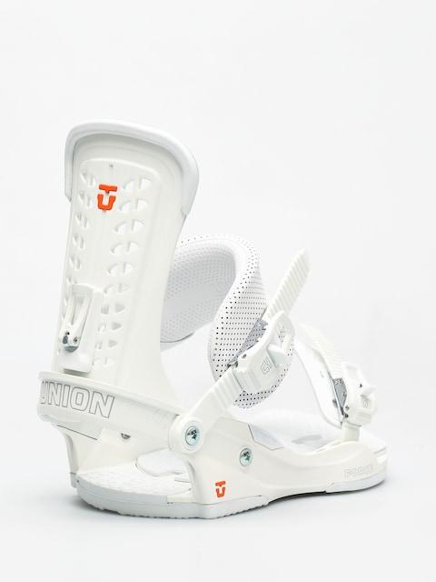 Snowboardové vázání Union Force (white)