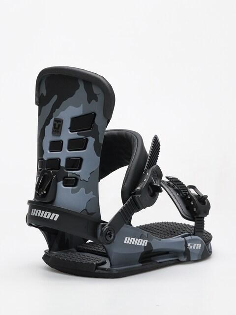 Snowboardové vázání Union STR (black camo)