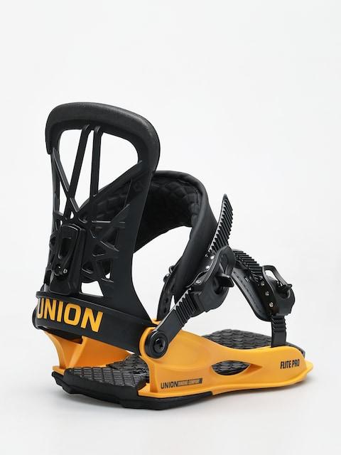 Snowboardové vázání Union Flite Pro (black yellow)