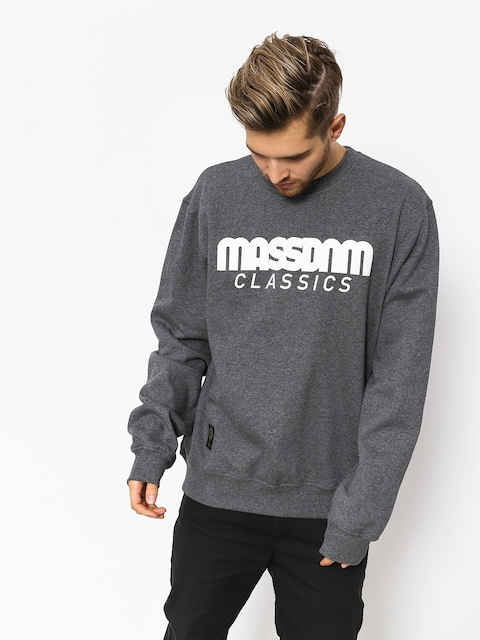 Mikina MassDnm Classics (dark heather grey)