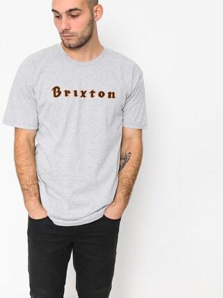Tričko Brixton Proxy Stt (heather grey)