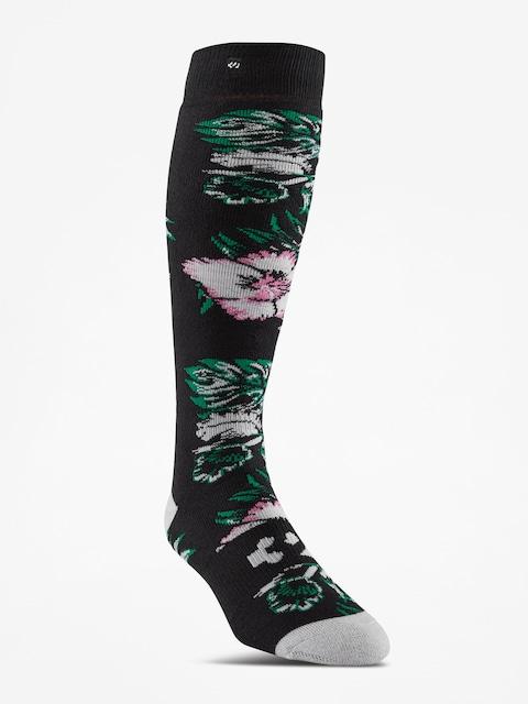 Ponožky ThirtyTwo Aloha Graphic Wmn (black)
