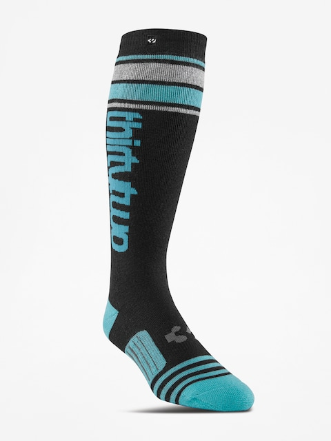 Ponožky ThirtyTwo Stripe Graphic Wmn (black)