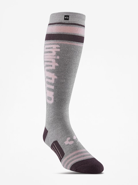Ponožky ThirtyTwo Stripe Graphic Wmn (charcoal/heather)