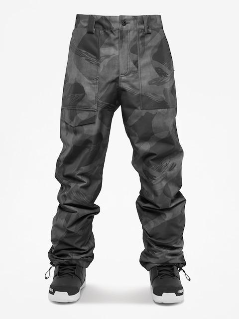 Snowboardové kalhoty  ThirtyTwo Sweeper (black/camo)