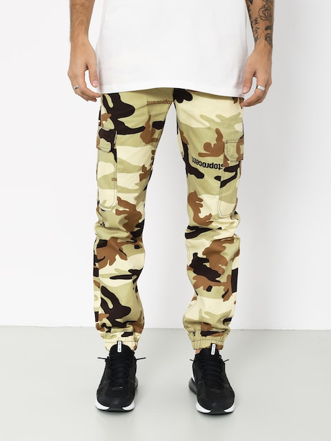 Kalhoty Stoprocent New Army Joggers (camo desert)