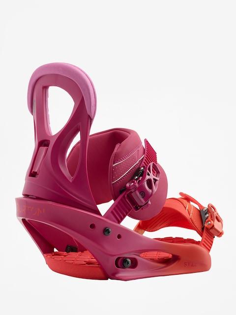 Snowboardové vázání Burton Stiletto Wmn (lily orange)