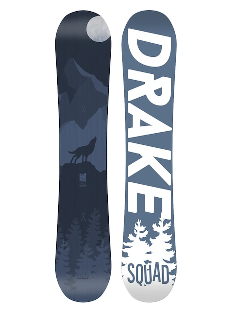 Snowboard Drake Squad