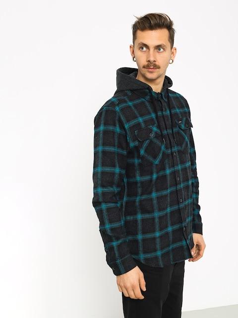 Košile RVCA Good Hombre Ls (charcoal heather)