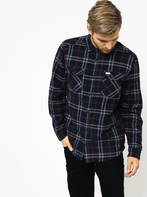 Košile RVCA Ar Plaid Ls (new navy)