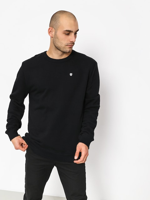 Mikina Brixton B Shield Crew (black)