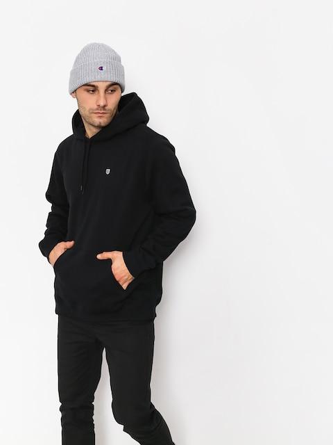 Mikina s kapucí Brixton B Shield Intl HD (black)