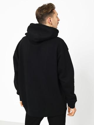 Mikina s kapucí Real Og Oval HD (black/white)