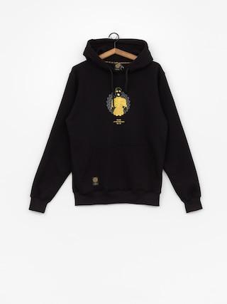 Mikina s kapucí MassDnm Golden Chick HD (black)