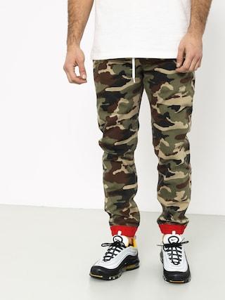 Kalhoty MassDnm Truman Joggers Sneaker Fit (woodland camo)