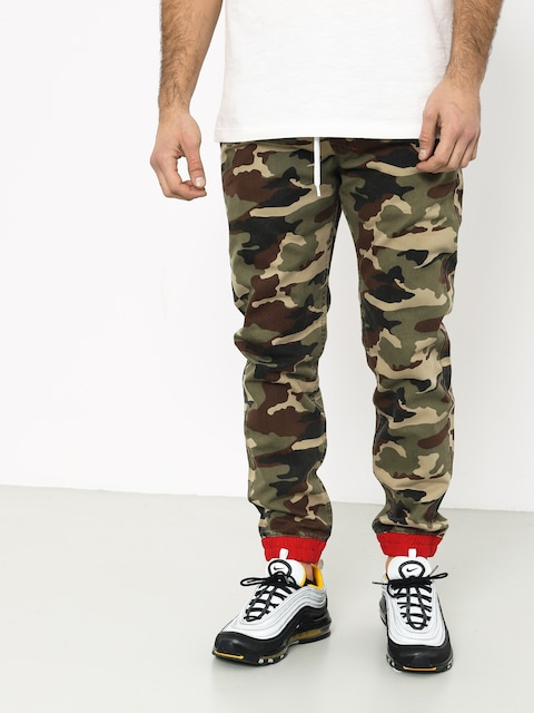 Kalhoty MassDnm Truman Joggers Sneaker Fit (woodland camo)
