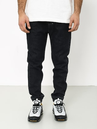 Kalhoty MassDnm Truth Joggers Jeans Trap Fit (black rinse)