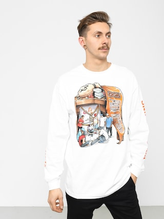 Triko DGK Hard Knocks (white)
