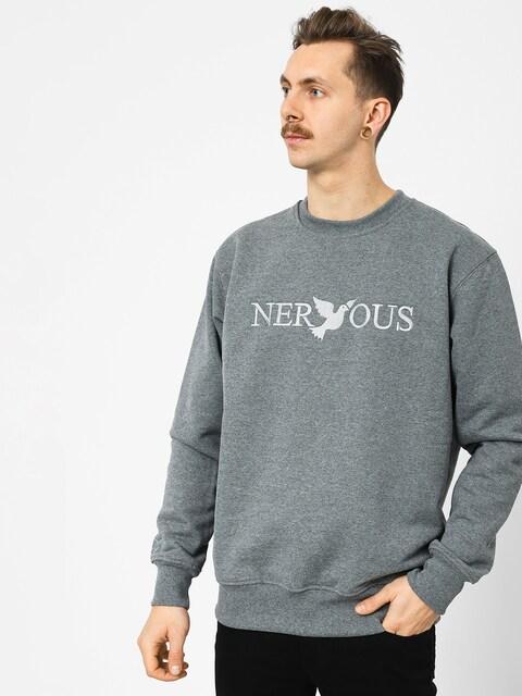 Mikina Nervous Crew Classic (grey)